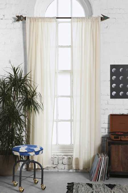 Magical Thinking Scallop Scale Curtain