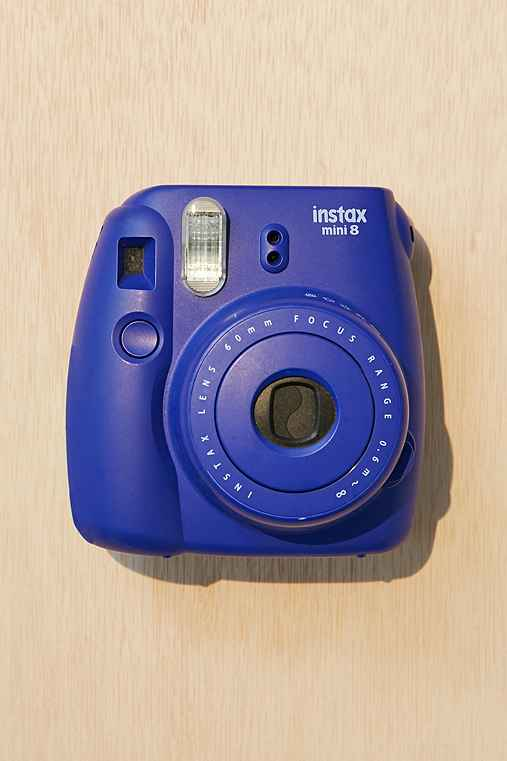 Fujifilm X UO Custom Colored Mini 8 Instax Camera,DARK BLUE,ONE SIZE
