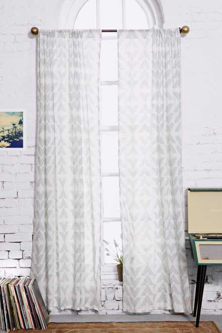 Assembly Home Moa Double-Arrow Curtain