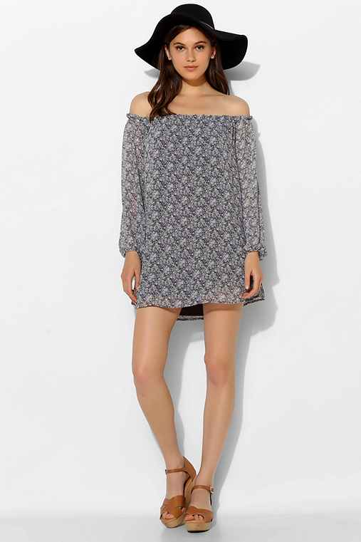 For Love & Lemons Precioso Off-The-Shoulder Dress
