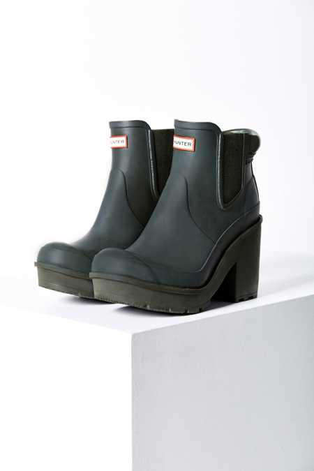 Hunter Original Block Heel Chelsea Boot