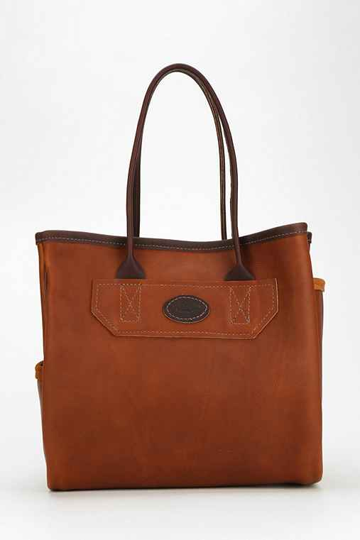 Leelanau Trading Co. Leather Tote Bag