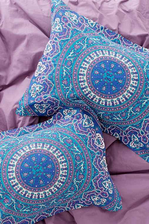 Magical Thinking Ophelia Medallion Sham Set,BLUE,ONE SIZE