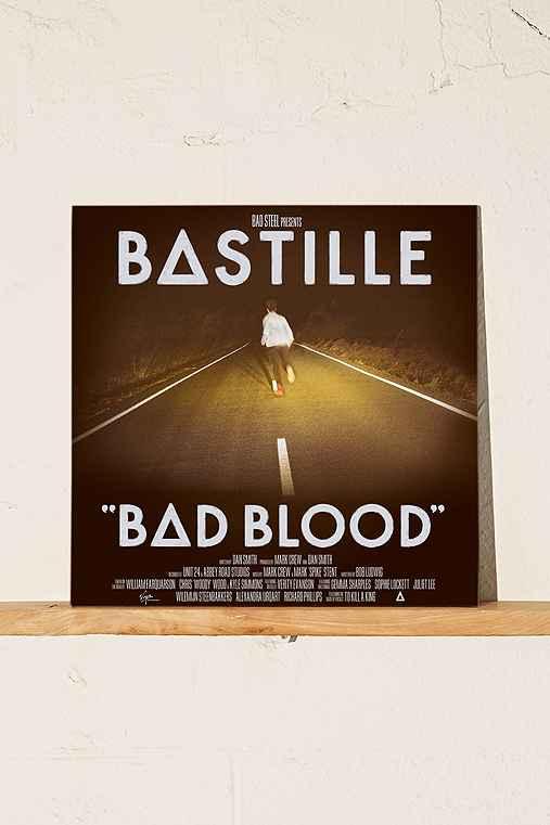 Bastille - Bad Blood LP,BLACK,ONE SIZE