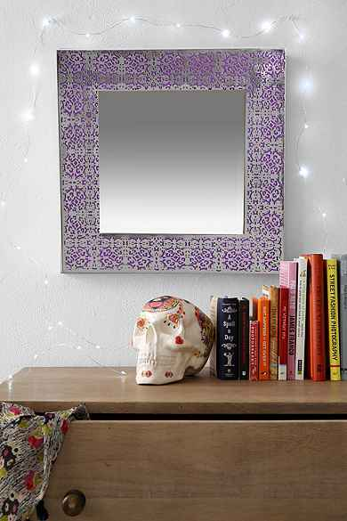 Plum & Bow Etched Mirror