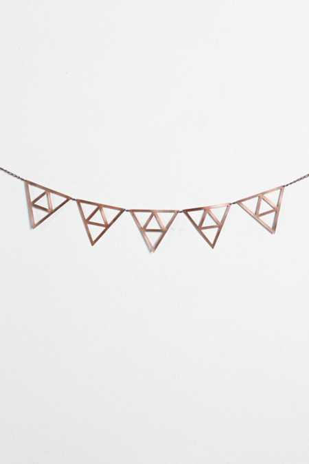 Magical Thinking Metal Triangle Wall Banner