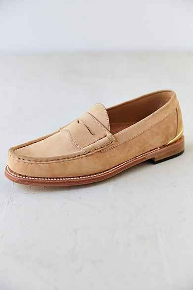 Caminando Heel Plate Penny Loafer Shoe