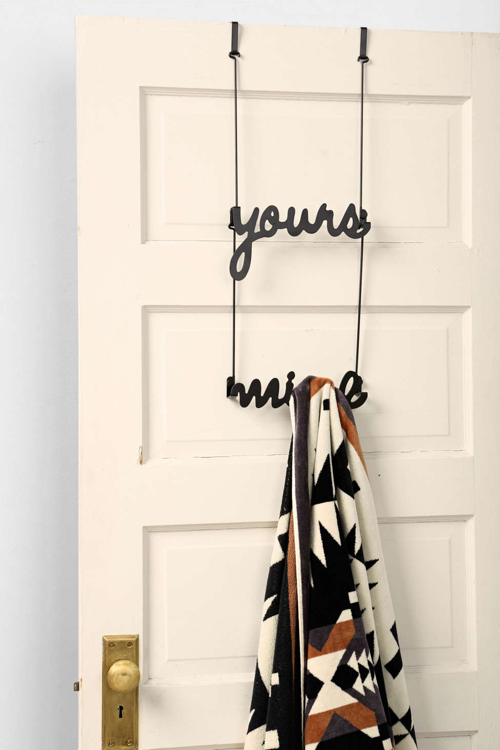 Yours & Mine Over The Door Rack