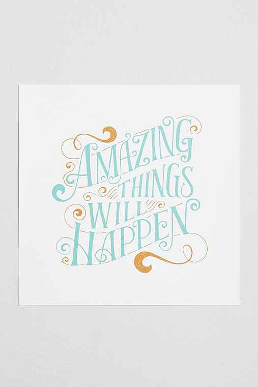 Mary Kate McDevitt Amazing Things Will Happen Art Print