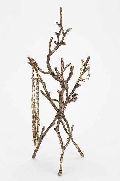 Room accessories urban outfitters for Tree branch jewelry holder