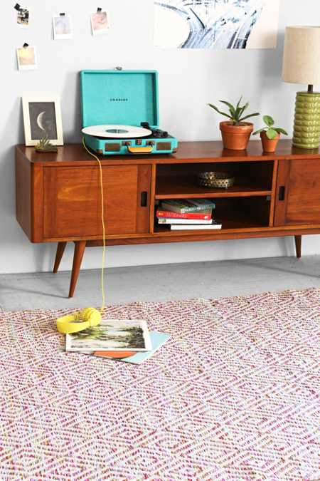 Plum & Bow Spacedye Diamond Woven Rug