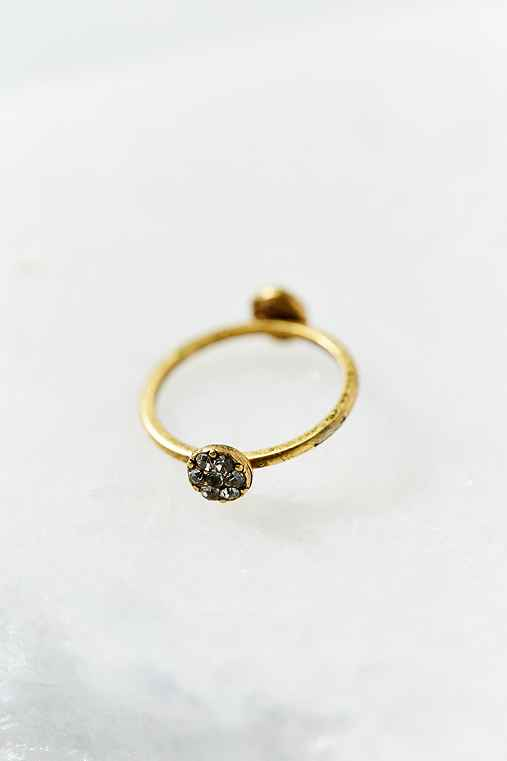 Heart & Star Delicate Ring