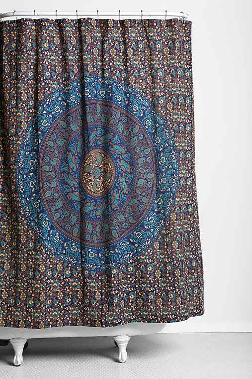 Magical Thinking Jade Medallion Shower Curtain Urban Outfitters