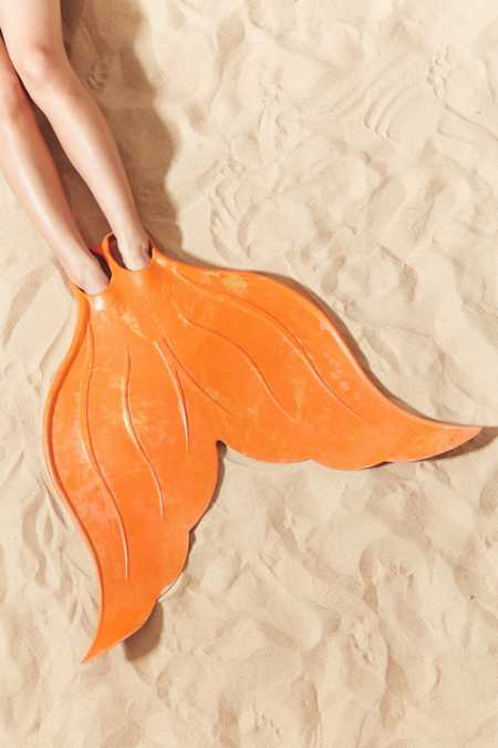 Cute mermaid flipper