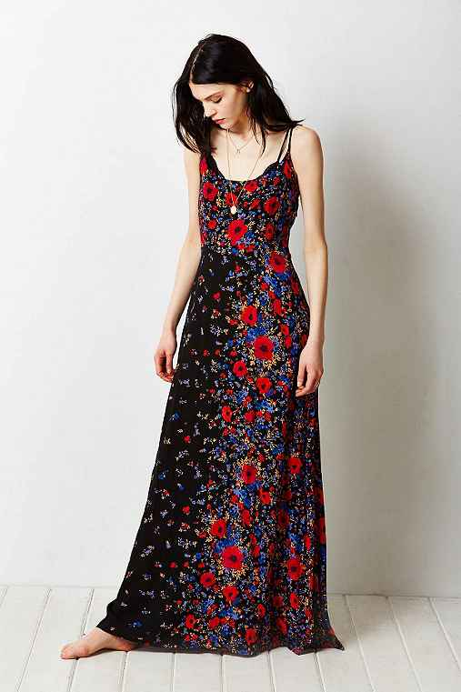 Kimchi Blue Wildflower Maxi Dress