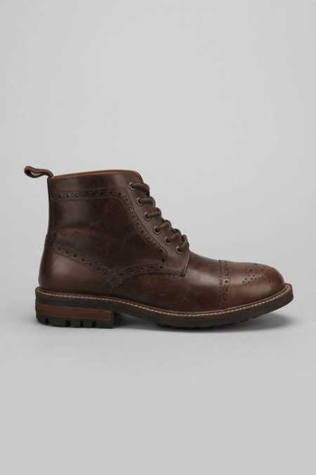 Hawkings McGill Round Toe-Cap Key Cleat Boot