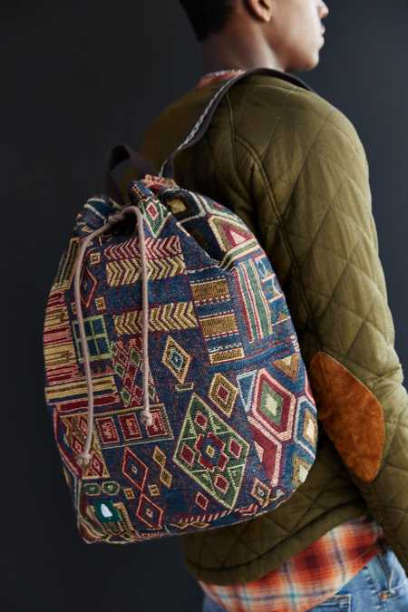 Trees Tapestry Cinch Bag