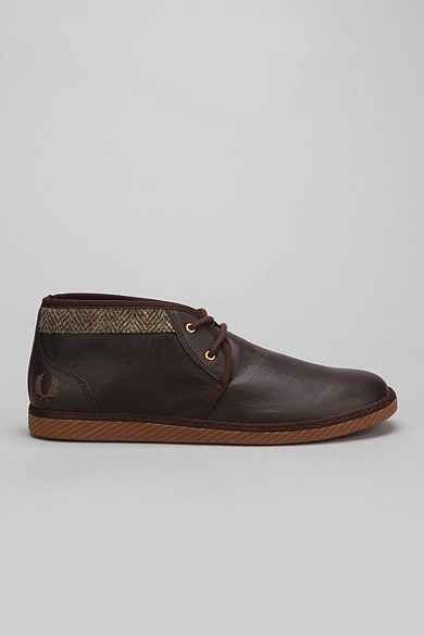 Fred Perry Claxton Leathers Harris Tweed Sneaker