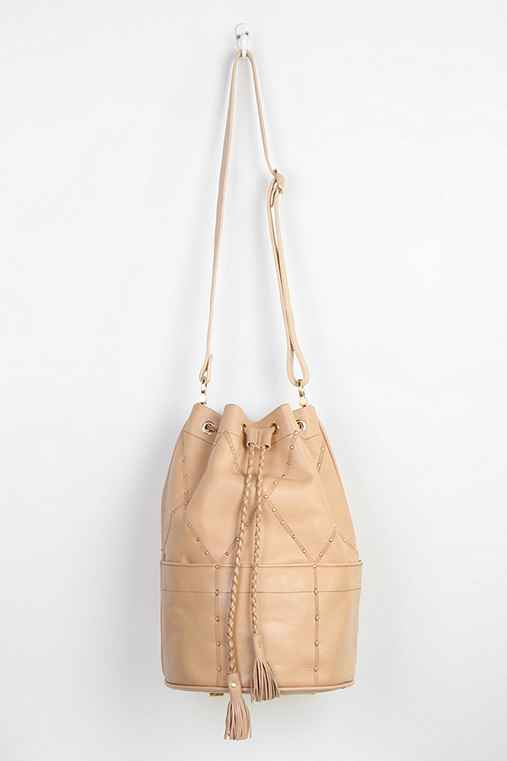Sancia valencia studded leather bucket bag - Urban outfitters valencia ...