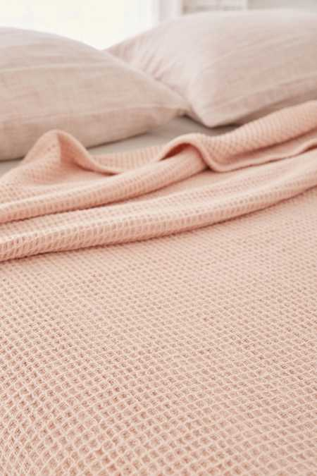 Waffled Bed Blanket