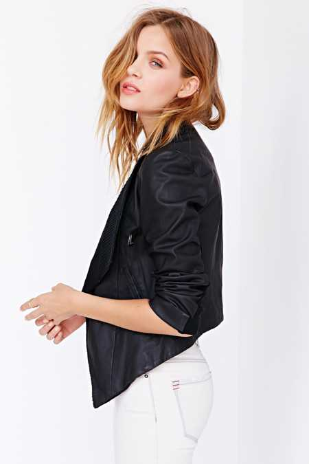 BB Dakota Tamela Vegan Leather Jacket