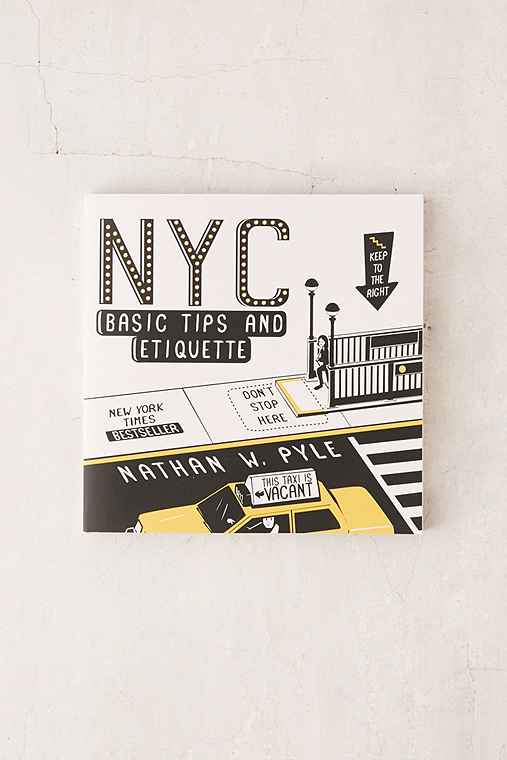 NYC: Basic Tips And Etiquette By Nathan W. Pyle,ASSORTED,ONE SIZE