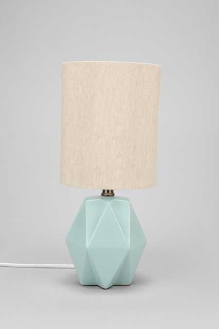 Faceted Pastel Table Lamp