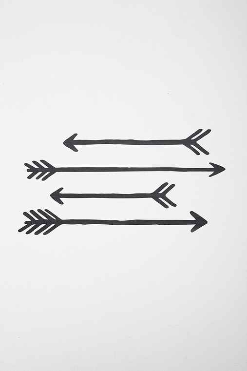 Arrow Wall Decal Set Urban Outfitters