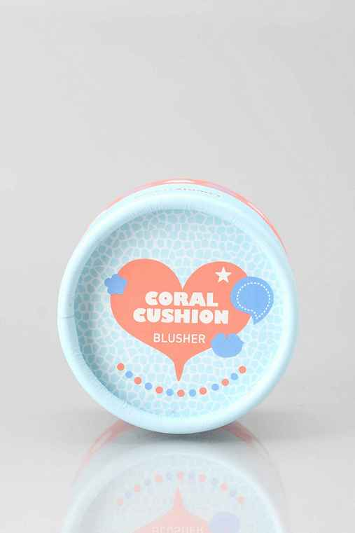 The Face Shop Lovely Me:Ex Pastel Cushion Blusher,CORAL CUSHION,ONE SIZE