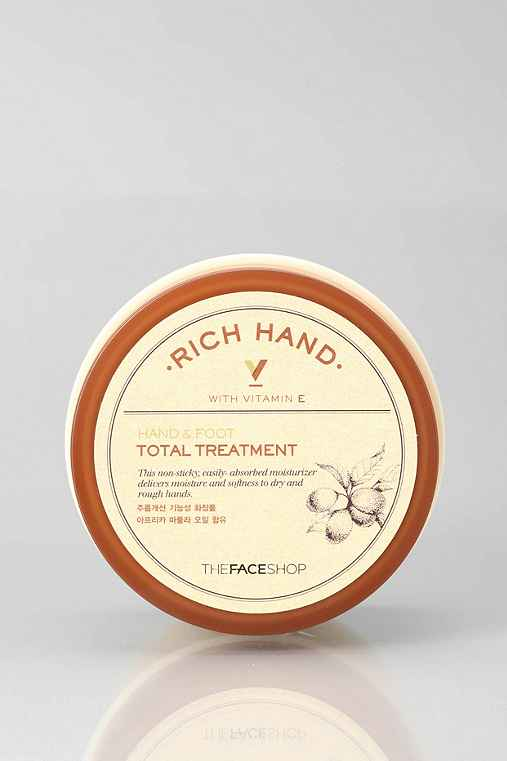 The Face Shop Rich Hand V Hand & Foot Total Treatment,ASSORTED,ONE SIZE