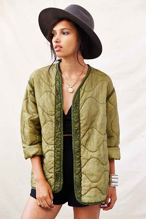 Urban Renewal Quilted Liner Jacket