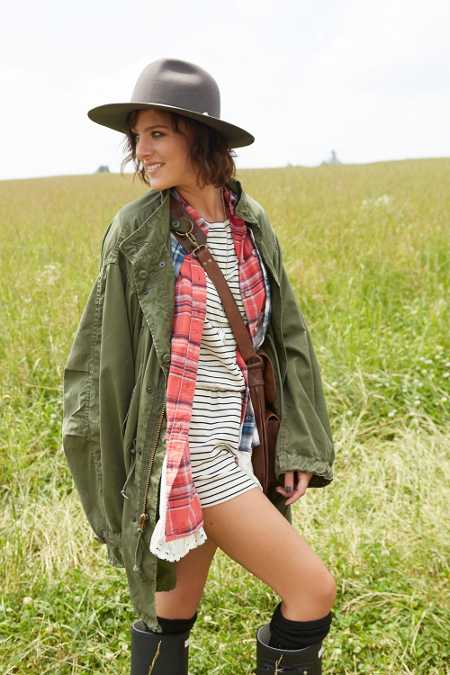 Urban Renewal Unlined Fishtail Parka Jacket