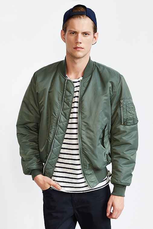 Alpha Industries Classic MA1 Bomber Jacket - Urban Outfitters