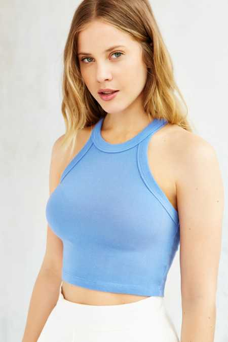 Truly Madly Deeply Fitted Cropped Tank Top