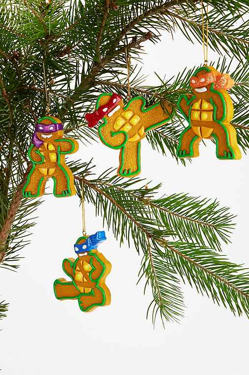 Teenage Mutant Ginger Turtle Ornament