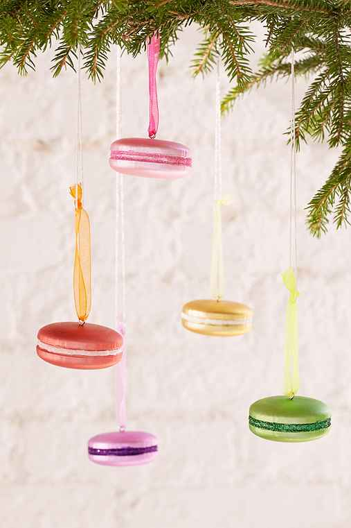 Macaroon Ornament Set,ASSORTED,ONE SIZE