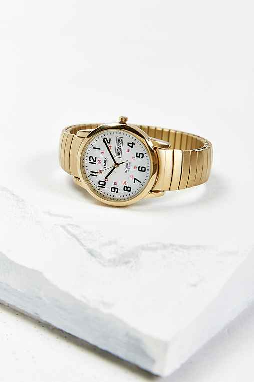 Timex Gold Metal Weekender Watch