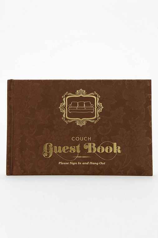 Guest Book: Couch By Knock Knock,ASSORTED,ONE SIZE