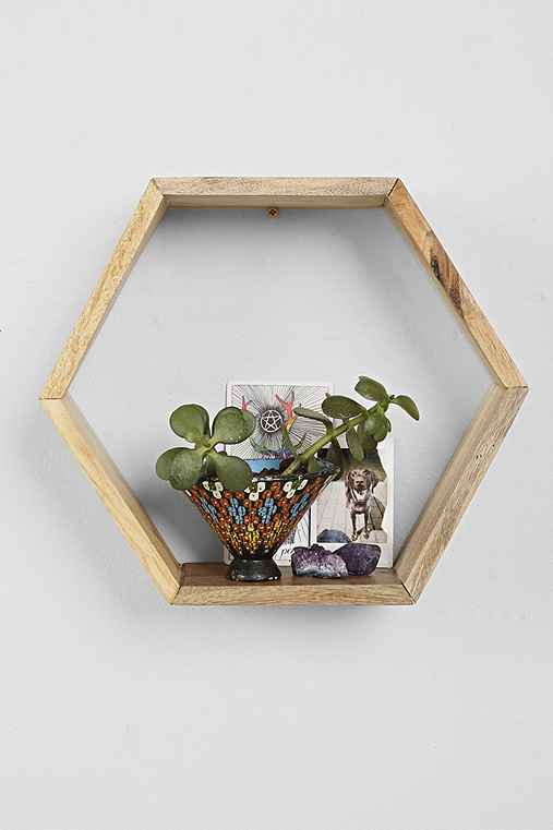Honeycomb Wood Shelf - Urban Outfitters - photo#7