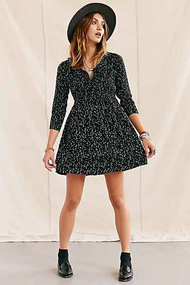 One & Only X Urban Renewal Polka Dot Dress