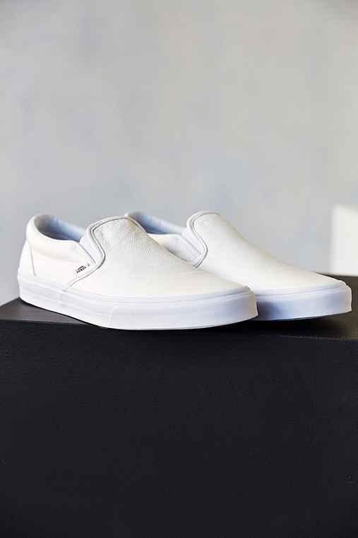 aadf709d0a Vans Classic Premium Leather Slip-On Men s Sneaker