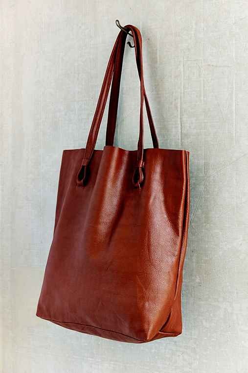 BDG Basic Leather Tote Bag