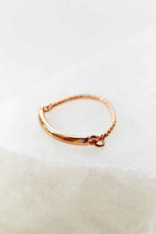 Delicate Rope Ring