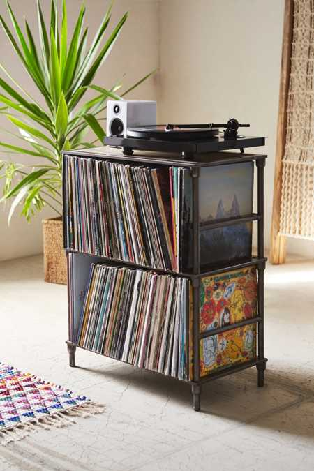 Vinyl Storage Shelf