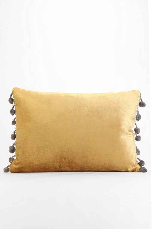 Plum & Bow Long Velvet Pillow - Urban Outfitters