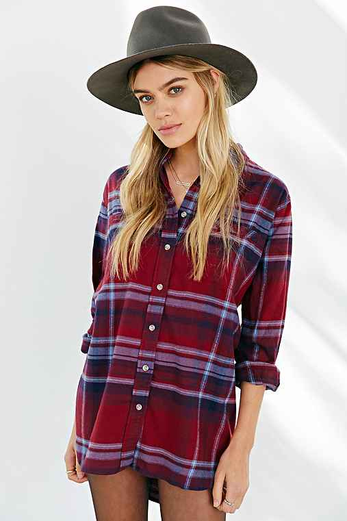 BDG Obie Flannel Button-Down Shirt