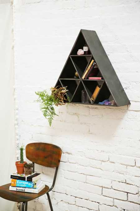 Geo Triangle Shelf