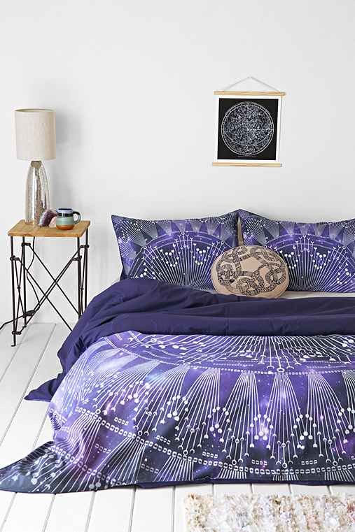 Magical thinking cosmic medallion duvet cover urban Magical thinking bedding