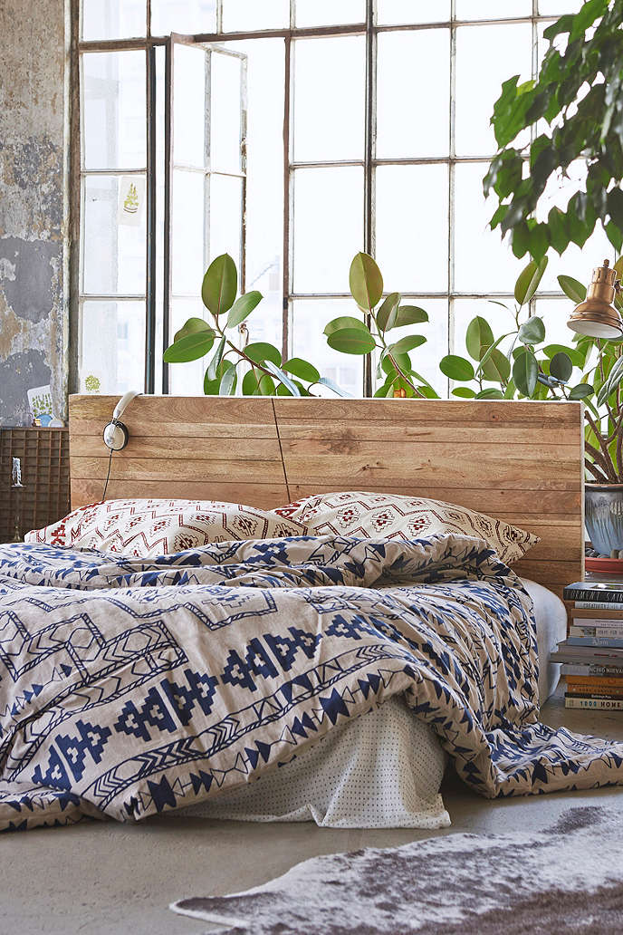 angled wood headboard urban outfitters on the hunt