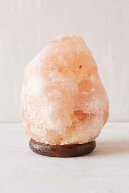Himalayan Salt Lamp,PEACH,ONE SIZE